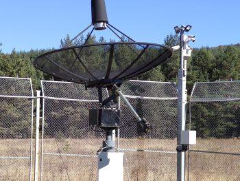 """Радиотелескопът на катедра """"Астрономия"""" отново е напълно функциониращ"""