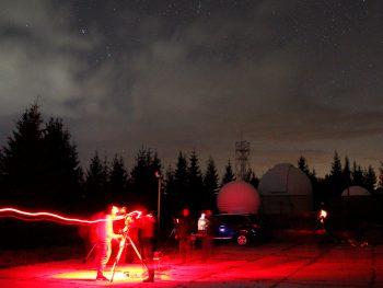 """Успешно премина практиката по """"Астрофотография"""" на студентите от МП """"Астрономия и популяризация на астрономията"""""""